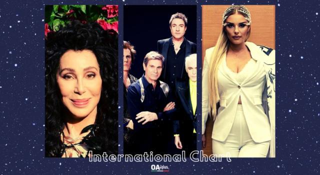OA PLUS INTERNATIONAL CHART (WEEK 21/2021): tante novità e sul podio con Anxhela Peristeri i big Duran Duran e Cher