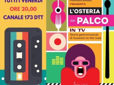 Osteria del Palco in TV, confermata la seconda stagione del format televisivo dedicato alle storie gastromusicali di 25 artisti del MEI