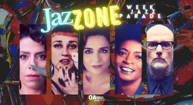 Rubrica, JazZONE. ChiaraBlue, Hiatus Kaiyote, Franca Masu, Christine Salem, Moby