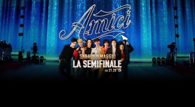 LIVE AMICI 2021 SERALE. La ottava puntata di SABATO 8 MAGGIO: Ospiti della SEMIFINALE Ermal Meta e The Kolors