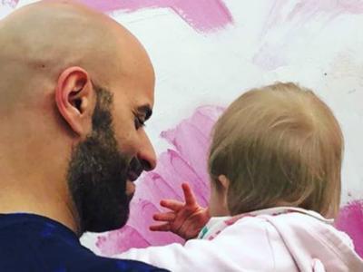 """Luca Trapanese, il padre single e gay della piccola Alba racconta la sua storia a Matteo Salvini: """"Siamo una famiglia"""""""