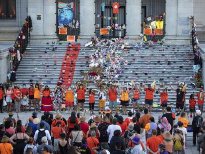 Canada: a fuoco le chiese per l'insurrezione dei nativi