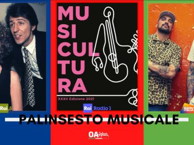 Rubrica, PALINSESTO MUSICALE: Gaber e Mina, Musicultura, Takagi & Ketra