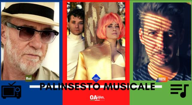 Rubrica, PALINSESTO MUSICALE: Francesco De Gregori, Battiti Live, Francesco Gabbani