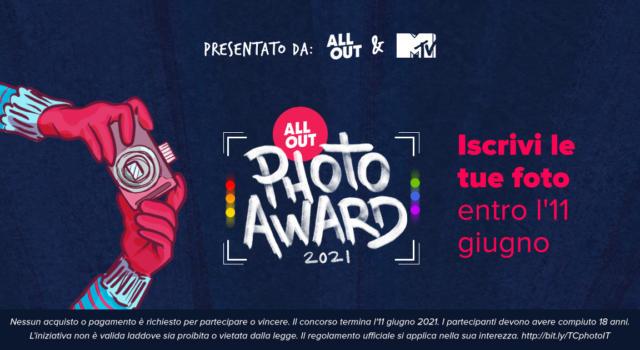 """All Out e MTV lanciano """"All Out Photo Awards 2021"""": un concorso fotografico sull'attivismo LGBTI+"""