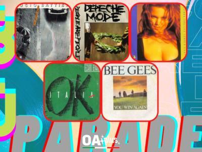 Rubrica, 80PARADE. Lucio Battisti, Depeche Mode, Belinda Carlisle, Edoardo Bennato, Bee Gees