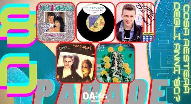 Rubrica, 80PARADE. Pupo e Fiordaliso, Prince, Jovanotti, Krisma, Tears for Fears
