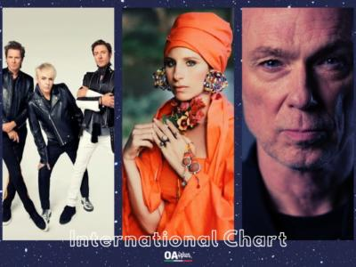 OA PLUS INTERNATIONAL CHART (WEEK 23/2021): podio di grandi nomi con Barbra Streisand e Willie Nelson, Duran Duran e Gary Kemp