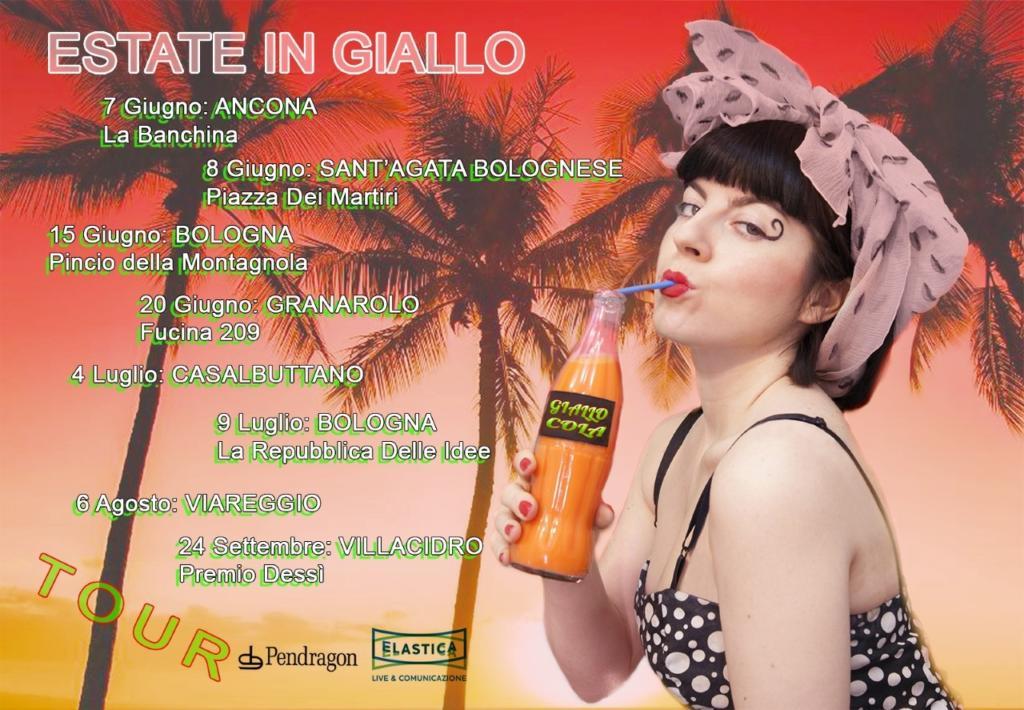 """""""Estate in giallo"""": Roberta Giallo torna ad esibirsi dal vivo"""