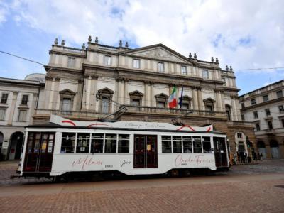 Milano dedica un tram a Carla Fracci