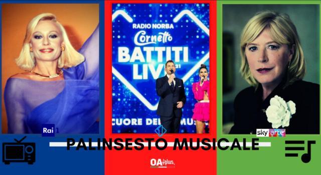 Rubrica, PALINSESTO MUSICALE: Raffaella Carrà, Battiti Live, Marianne Faithfull