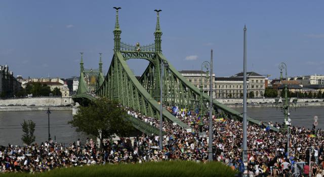 Budapest: il Gay Pride e la protesta all'oscurantismo