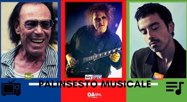Rubrica, PALINSESTO MUSICALE: Antonello Venditti, The Cure, Diodato