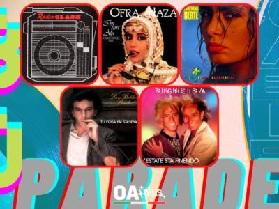 Rubrica, 80PARADE. The Clash, Ofra Haza, Loredana Bertè, Dario Baldan Bembo, Righeira