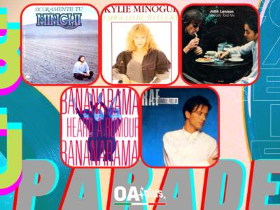 Rubrica, 80PARADE. Amedeo Minghi, Kylie Minogue, John Lennon, Bananarama, Raf