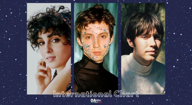 OA PLUS INTERNATIONAL CHART (WEEK 28/2021): sul podio Troye Sivan, Barbara Pravi e Matt Maltese in salita