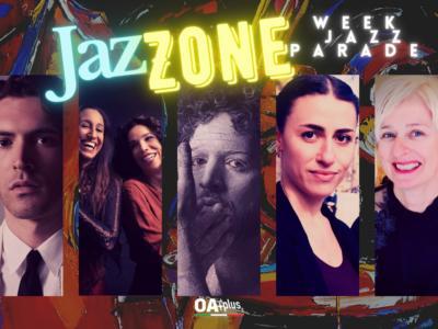 Rubrica, JazZONE. Giovanni Caccamo, Djelem Do Mar, Larocca, Lucy Yeghiazaryan & Vanisha Gould, Julia Fordham