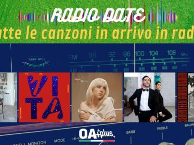 RADIO DATE del 9 luglio. Arisa, La Rappresentante di Lista, Billie Eilish, Max Gazzè, Sam Fender