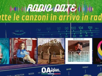 RADIO DATE del 16 luglio. Casadilego, Galea, Maneskin, Mietta, Giordana Angi
