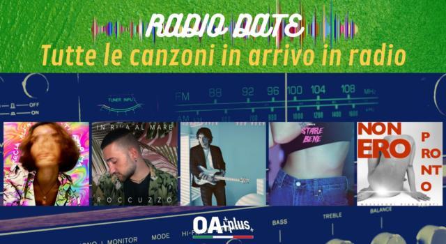 RADIO DATE del 23 luglio. Tecla, Roccuzzo, John Mayer, Carrese, Massaroni Pianoforti