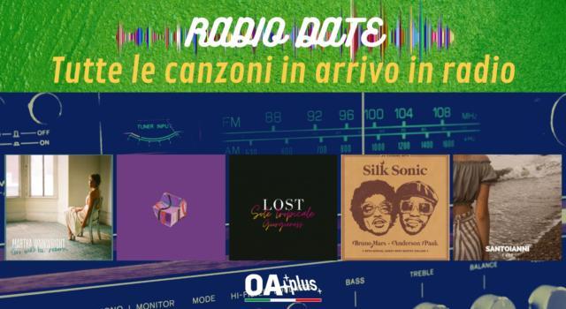 RADIO DATE del 30 luglio. Martha Wainwright, Zibba, Lost & Giorgieness, Bruno Mars & Anderson .Paak, Santoianni