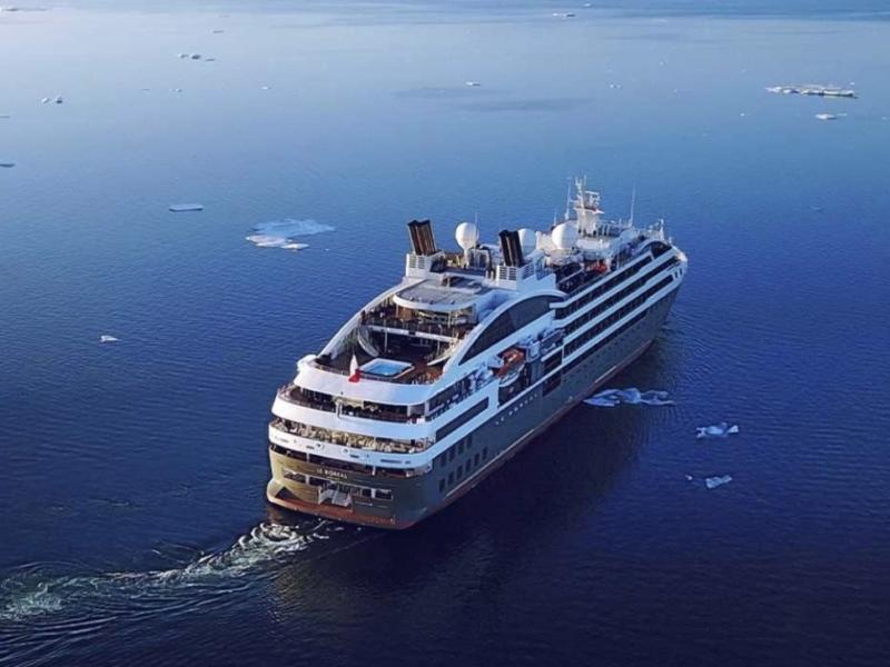 """Commandand Charcot"""", ecco la prima nave da crociera per viaggi polari"""