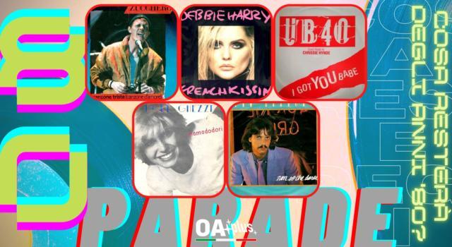 Rubrica, 80PARADE. Zucchero, Debbie Harry, UB40, Dori Ghezzi, Alan Sorrenti