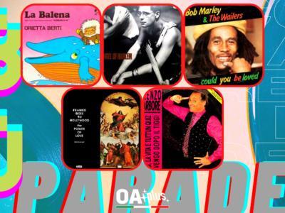 Rubrica, 80PARADE. Orietta Berti, U2, Bob Marley, Frankie Goes to Hollywood, Renzo Arbore