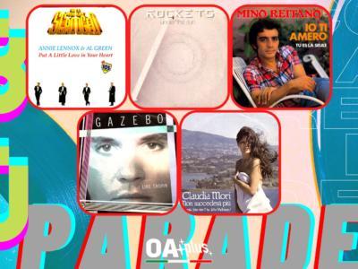 Rubrica, 80PARADE. Annie Lennox & Al Green, Rockets, Mino Reitano, Gazebo, Claudia Mori