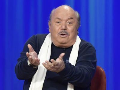 """Il Moige boccia Lino Banfi: tolta la frase """"Porca pu**ena"""" dallo spot di Tim Vision. Luca Bizzarri: """"Siamo al declino"""""""