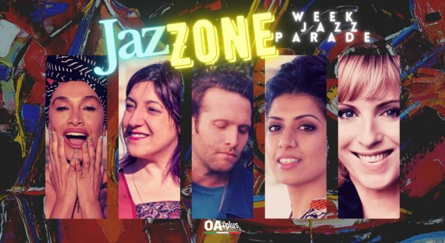 Rubrica, JazZONE. Lady Blackbird, Maria Mazzotta, Teddy Grossman, Sukhmani-Ajeet-Aisling Urwin, Silje Nergaard