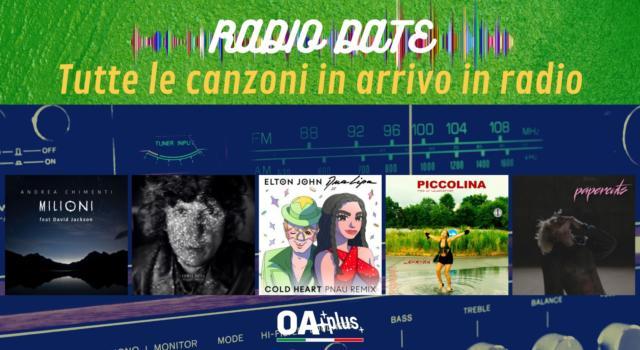 RADIO DATE del 13 agosto. Andrea Chimenti, Ermal Meta, Elton John & Dua Lipa, LaHasna, Machine Gun Kelly