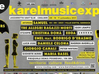 """Karel Music Expo: da Cristina Donà a Samuel, dopo la pandemia torna il Festival """"che resiste"""""""