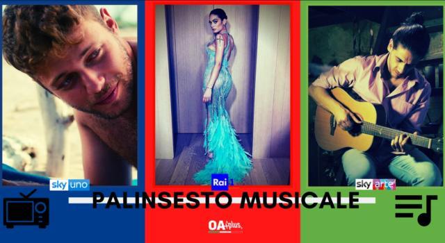 Rubrica, PALINSESTO MUSICALE: X Factor, Elodie, Mirkoeilcane