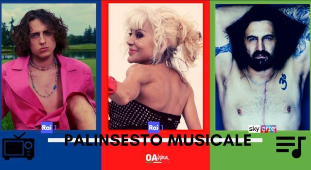 Rubrica, PALINSESTO MUSICALE: Sangiovanni, Rettore, Timoria
