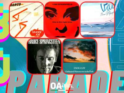Rubrica, 80PARADE. Banco del Mutuo Soccorso, Lisa Stansfield, Nino D'Angelo, Bruce Springsteen, OMD