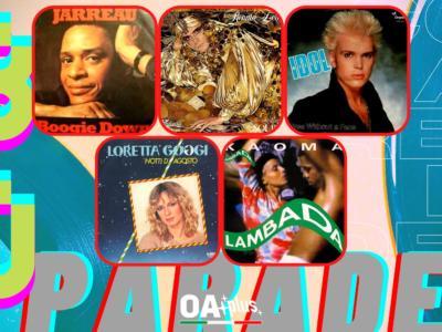 Rubrica, 80PARADE. Al Jarreau, Renato Zero, Billy Idol, Loretta Goggi, Kaoma