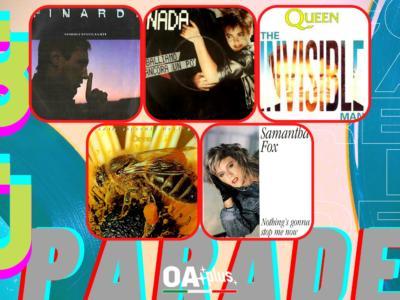 Rubrica, 80PARADE. Eugenio Finardi, Nada, Queen, Le Orme, Samantha Fox