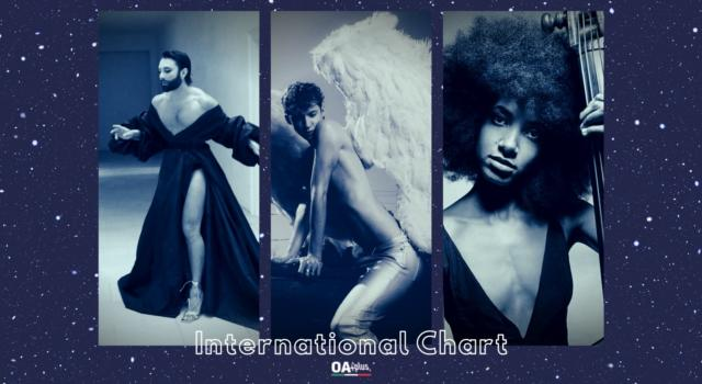 OA PLUS INTERNATIONAL CHART (WEEK 39/2021): primo Troye Sivan entrano Conchita Wurst ed Esperanza Spalding