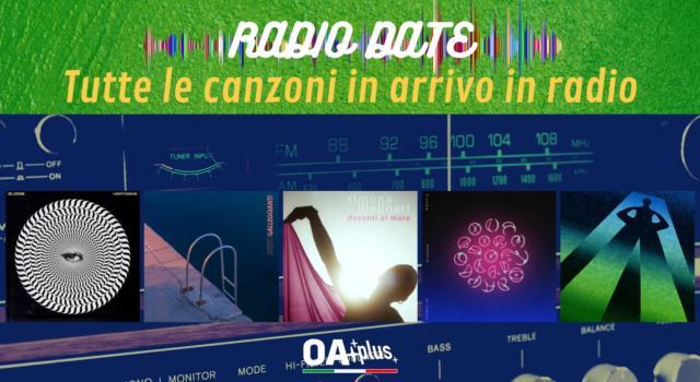 RADIO DATE del 24 settembre. Elodie, Sesto, Simona Molinari, Coldplay & BTS, Giorgio Poi