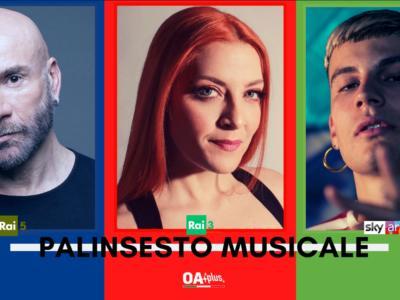 Rubrica, PALINSESTO MUSICALE: Mario Venuti, Noemi, Il Tre