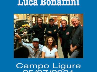 """""""Campo Ligure, 25 luglio 2021"""" è l'album live di Luca Bonaffini"""