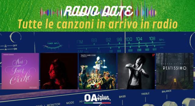 RADIO DATE dell'8 ottobre. Francesca Michielin, Henna, Fulminacci, LP, Andrea Chimenti